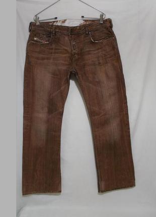 Раритет джинсы ручная покраска w36 l30-32 *diesel* zathan wash...