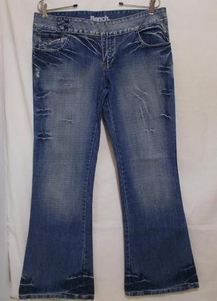 Новые джинсы рваные делаве w32 l32 *bench*