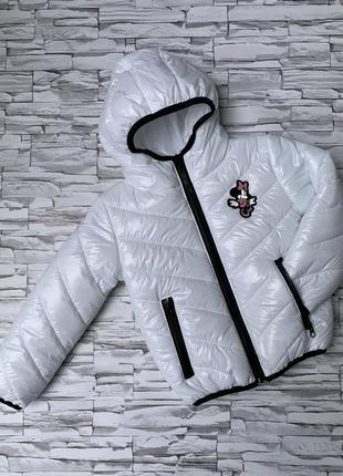 Детская демисезонная курточка микки маус