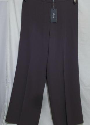 Новые роскошные брюки палаццо баклажанового цвета *alexon* 48-50р