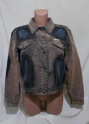 Новая эксклюзивная куртка жакет под замшу *bella dahl usa* 50р