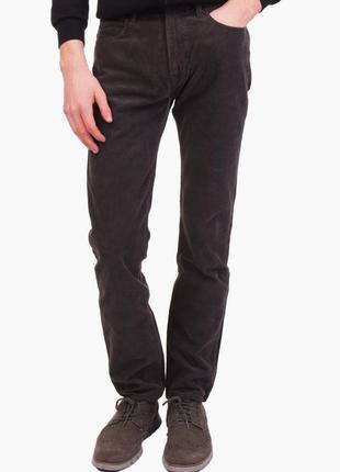 Новые брюки вельветовые шоколад 'eco wash' w31 *armani jeans*
