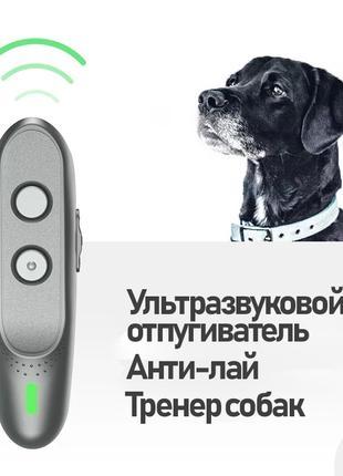 Ультразвуковой отпугиватель собак, анти-лай, дрессировщик