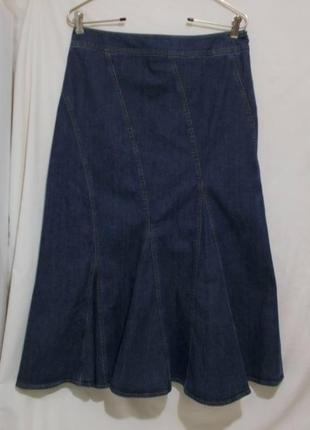 Новая юбка-годе джинсовая *frank walder* 48р