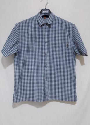 """Рубашка в мелкую клетку """"timberland"""" 12-14 лет"""