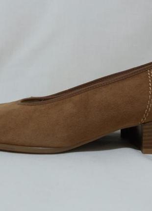 Туфли замшевые коричневые *ara* flex relax 40р