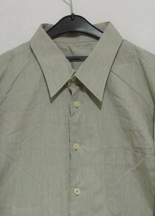 Рубашка оливковая 'strellson' швейцария 56-60р