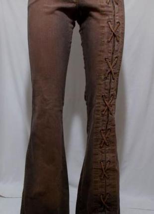 Новые эксклюзивные джинсы клеш 'toba&co jeans' франция 42р