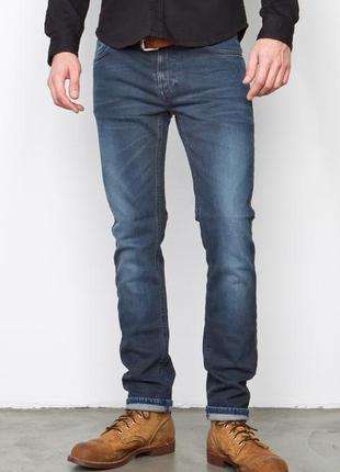 Джинсы скинни делаве грязно-синие w28 l32 *nudie jeans* 'thin ...