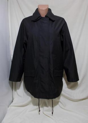 Куртка черная прорезиненная утепленная люкс бренд *sand copenh...