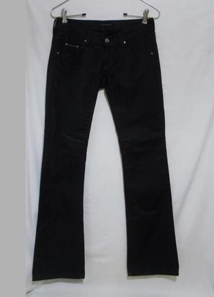 Джинсы черные стрейч как новые w27 l34 *calvin klein jeans*