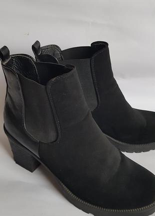 Ботинки с резинками сапоги ботильоны