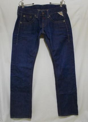 Новые джинсы цвета индиго w30 l30 *replay*