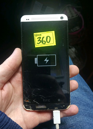 HTC One M7 на запчасти