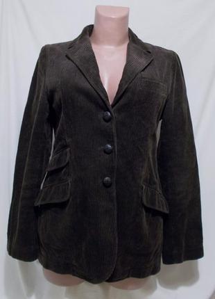 Пиджак плотный вельвет шоколадный *gant* 44р