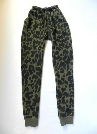 ⛔✅крутые штаны брюки принт леопард разные цвета2 боковых кармашка