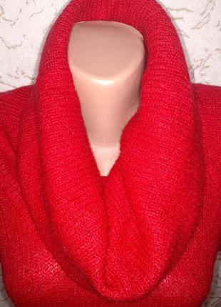 Женский свитер с отворотом бренда h&m