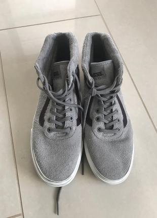 Ботинки кожаные кеды унисекс vans размер 42