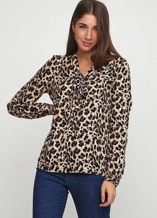 Эффектная блуза блузка рубашка esmara от хайди клум