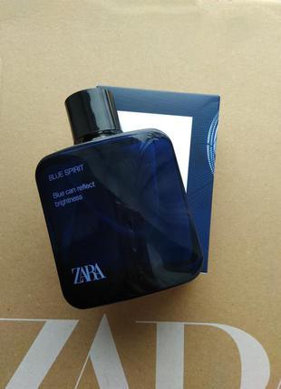 Blue spirit zara 100ml духи туалетная вода парфюм