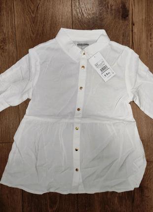 Блузка 9-10 (140) нова з бірками на дівчинку PiaZaital