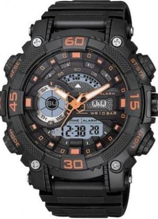 Новые мужские спортивные наручные часы Q&Q GW87J009Y