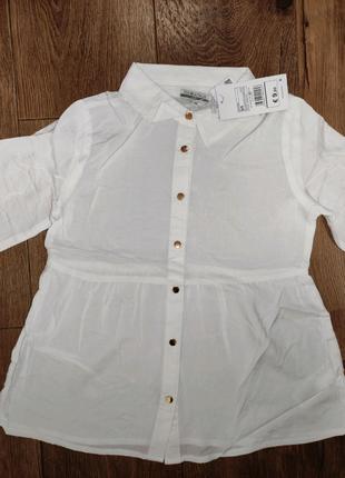 Блузка 8-9 (132) нова з бірками на дівчинку PiaZaital