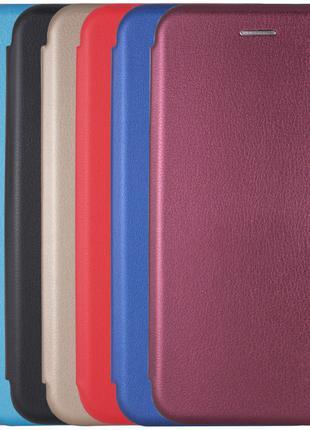 Чехол Книга Premium для Xiaomi Redmi 4A   - Цвет: Бордовый