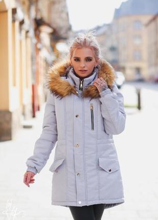Куртка парка осень зима дизайнерская одежда