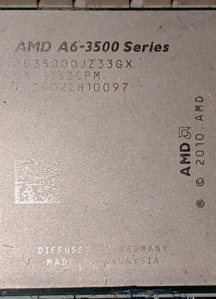 AMD A6-3500 (AD35000JZ33GX) 4x2.1GHz-2.4GHz Socket FM1