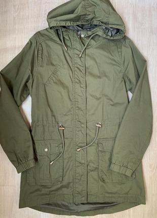 Женская куртка ветровка парка house bershka zara h&m