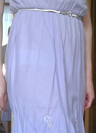 Платье из натурального хлопка