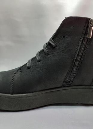 Распродажа!зимние ботинки под кеды на молнии madoks