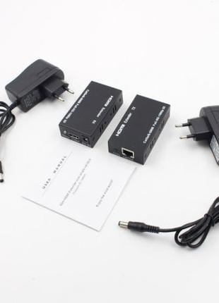 Активный экстендер LAN удлинитель HDMI FullHD по 1 витой паре