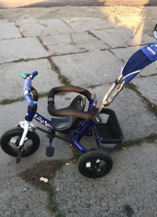 Трехколесный велосипед LEXUS Trike KR-01 Синий
