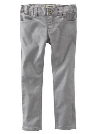 Стильные брюки, штаны, джинсы oshkosh для девочки на 6,7 лет с...