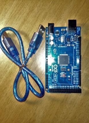 Arduino Mega 2560 Rev3 с USB кабелем