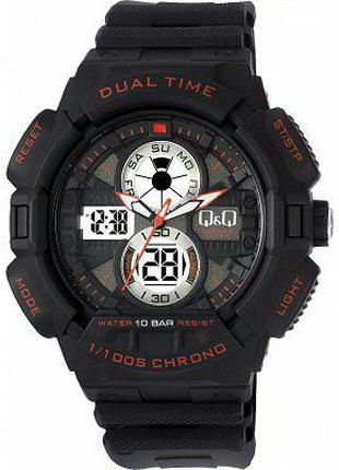 Новые мужские спортивные наручные часы Q&Q GW81J002Y