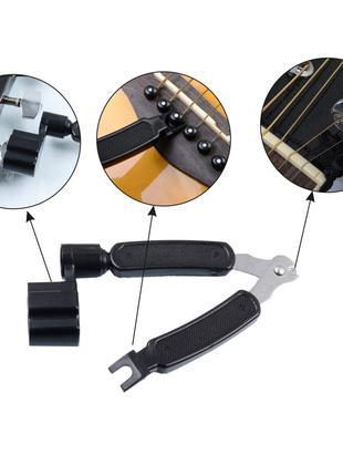 Мультиключ для гітари - намотка струн / кусачки / зубець