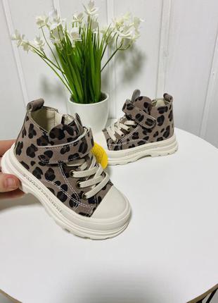 Детские ботинки весна для девочки Clibee 21-25