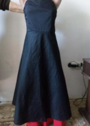 Стильное платье с открытыми плечами
