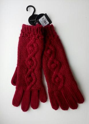 Теплые осенние демисезонные зимние перчатки atmosphere