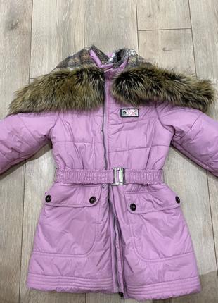 Куртка-пальто зимняя LENNE