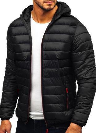 Стильная курточка на  весну / осень мужская черная
