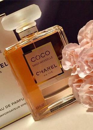 Chanel coco mademoiselle 100ml парфюмированная вода