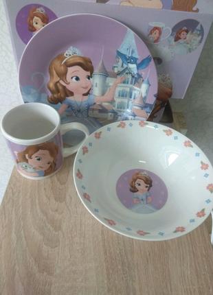 Набір посуду. Принцеса Софія.