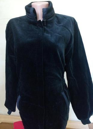 Стильная вельветовая куртка/париж