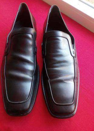Мужские туфли hugo boss италия
