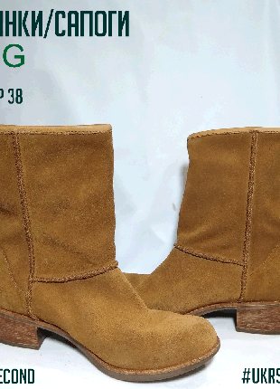 Замшевые демисезонные ботинки/сапоги UGG