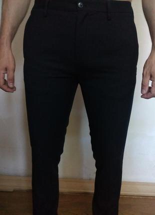 Мужские брюки slim fit/зауженные внизу
